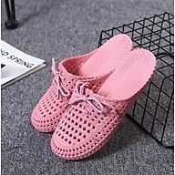 Giày sục đi mưa đi biển giày nhựa đi mưa chống trơn trượt mẫu V168 thumbnail