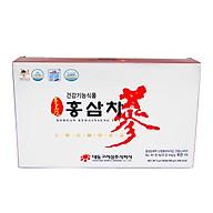 [Combo] 2 Hộp Trà Sâm Daedong 100 gói Chiết xuất từ hồng sâm nội địa 6 năm tuổi dạng trà hạt cốm Hàn Quốc giúp giải nhiệt mùa hè, tăng cường sức đề kháng thumbnail