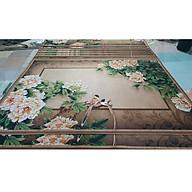 Thảm trang trí trải sàn Sofa phòng khách sang trọng hiện đại Bali in 3D Nhung nỉ lì cao cấp BL41 - Đa Giác Cam thumbnail