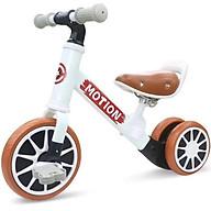 Xe chòi chân thăng bằng cho bé MOTION, có bàn đạp 2in1 yên bằng da - Hàng chính hãng thumbnail