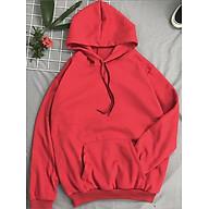 Áo hoodie trơn Hàn Quốc nữ - freesize thumbnail