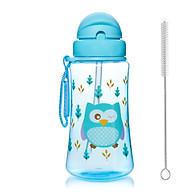 Bình uống nước cho bé Upass 300ml có ống hút mềm + tặng kèm cọ rửa ống hút thumbnail