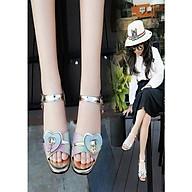 Giày sandal quai dán dành cho bé gái ES002 thumbnail