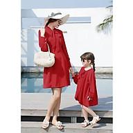 Đầm Xòe Phối Nơ Mẹ Và Bé thumbnail
