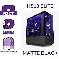 Vỏ Case Máy Tính NZXT H510 ELITE - Đen sần- Hàng Chính Hãng thumbnail