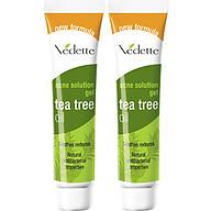 Combo 2 Gel Giảm Mụn Vedette Tràm Trà (Tea Tree Oil) - Tube 18g thumbnail
