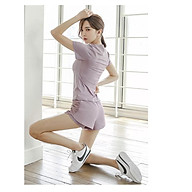 Bộ đồ tập Gym - Yoga hàng quảng châu cao cấp - Set 3 món Áo - Bra - quần short tập thể thao Siêu hot 2021 (Có Big Size) thumbnail