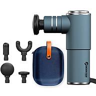 Súng massage cầm tay mini 4 đầu Booster Pocket MINI - Xám xanh thumbnail