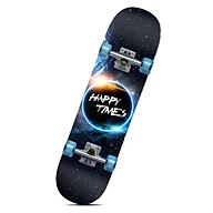 Ván trượt trẻ em có phát sáng Skateboard (Kèm phụ kiện) thumbnail