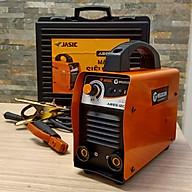 Máy hàn điện tử mini Ares120 Jasic Chính Hãng có kèm bộ dây kìm hàn, Hộp Nhựa đựng máy thumbnail