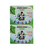 Combo 2 hộp Thực phẩm bảo vệ sức khỏe Thảo dược giảm ho cho trẻ em ZOKOZEN SYRUP FOR BABY thumbnail