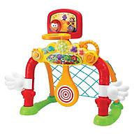 Bồ Đồ Chơi khung thành đá bóng kiêm bóng ném, bóng rổ vui nhộn 4 trong 1 có đèn nhạc Winfun 6001 cho bé từ 2 tới 6 tuổi - tặng đồ chơi tắm 2 món thumbnail