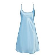 Đầm ngủ nữ satin mềm mại iBasic 7916 thumbnail