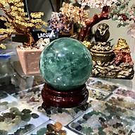 Quả Cầu Phong Thuỷ Đá Fluorit xanh thumbnail