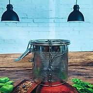 Dụng Cụ Lọc Trà, Lọc Gia Vị INOX Cao Cấp, có móc treo tiện dụng - Size 10cm. Dụng cụ pha chế, chế biến lọc cặn bã xác trà, gia vị thực phẩm NHANH HIỆU QUẢ. Phù hợp cho Nhà hàng Bar, quán ăn, quán nước ĐẲNG CẤP thumbnail