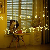 Bộ 12 đèn thả rèm sao cực đẹp(1 Màu vàng) thumbnail