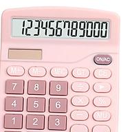 Office Handheld Desktop Calculator Dual Solar Power Business Accounts thumbnail
