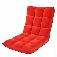 Ghế Ngồi Bệt Tatami, Ghế Bệt Tựa Lưng Phong cách Nhật Bản - Đỏ thumbnail