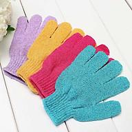 Găng tay tắm tẩy da chết cho cơ thể bằng vải nylon thumbnail