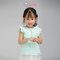 Áo sát nách ren BAA BABY tay bèo cho bé gái từ 1 - 7 tuổi - GT-AL09C thumbnail