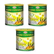 Thực phẩm chức năng sữa nghệ nano curcumin enlan gold 3 hộp thiếc 800gr thumbnail