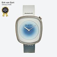 Đồng hồ unisex nam nữ Erik von Sant 004.001.D phối dây 2 màu thumbnail