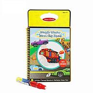 Sách tô màu bút nước thần kỳ Toys House size 29 - Kèm bút nước thumbnail
