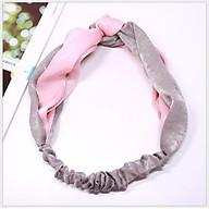 Băng đô turban giữ tóc chất lụa mềm TB06 phối mầu thumbnail
