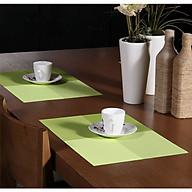 Tấm lót bàn ăn cao cấp NX105 xanh cốm thumbnail