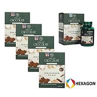 Combo MUA 4 TẶNG 1 Chocolate hỗ trợ Giảm Cân Slimming Care an toàn hiệu quả thumbnail