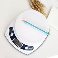 Cân điện tử sử dụng trong nhà bếp, độ chính xác cao 3kg 0.1g - Tặng kèm 6 con bướm dạ quang phát sáng thumbnail