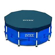 Tấm phủ Intex 28030 bể khung kim loại 3m05, Dùng để đảm bảo sự an toàn cho bé, Tránh bụi bẩn vào nước thumbnail