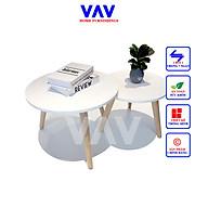 MOON COUPLE, Bàn trà gỗ, bàn cafe gỗ cao cấp, Chính hãng VAV thumbnail