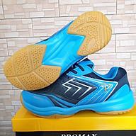 Giày bóng chuyền nam nữ Promax PR-19003 màu xanh đậm, đế kép thumbnail