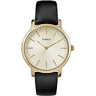Timex Women s TW2R36200 Metropolitan 34mm Silver-Tone Stainless Steel Mesh Bracelet Watch thumbnail