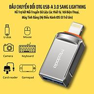 Đầu Chuyển Đổi OTG USB-A 3.0 Sang Lightning Mcdodo OT-8600 - Hàng Chính Hãng thumbnail