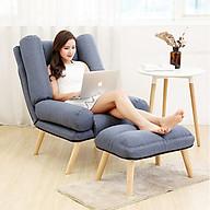 Ghế Thư Giãn, Ghế sofa nệm thư giãn, ghế ngồi ban công, ghế nằm đọc sách xem phim, ghế tựa lưng, ghế tựa lưng GHR008 (giao màu ngẫu nhiên) thumbnail