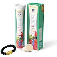 Viên sủi FRUJT SLIM - Hỗ trợ giảm cân an toàn - Tặng kèm vòng tay tỳ hưu thumbnail