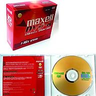 Đĩa DVD-R 4.7GB Maxell - Hàng chính hãng (Hộp 10 đĩa - 10 vỏ đựng) thumbnail