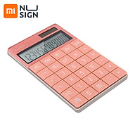 Youpin NUSIGN Calculator Widescreen Dual Power Supply School Student Teaching Stationery Calculating Tool Office thumbnail