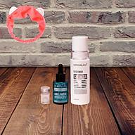 Combo Dưỡng Da Detox Blanc gồm Mặt Nạ Thải độc da Detox mask và Serum Dưỡng Trắng Da Chống Lão Hóa Collagen Hydrolysé Detox BlanC (30ml) Mẫu mới+ Tặng kèm băng đô thời trang thumbnail