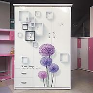 Tủ nhựa Đài Loan - tủ nhựa 3 cánh, tủ quần áo nhựa Đài Loan màu Trắng, hồng, xanh dương, vân gỗ óc chó, vân gỗ thumbnail