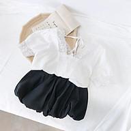 BV48 Size100-140 (12-30kg) Đồ bộ cho bé gái, kiểu dáng học sinh Thời trang trẻ Em hàng quảng châu thumbnail