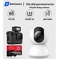 Thẻ nhớ 64Gb 32Gb Purememories Pro U3 Class 10 chuyên dụng cho CAMERA, Điện thoại, Máy ảnh,... tốc độ cao 95Mb-140Mb s thumbnail
