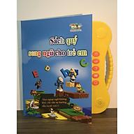 Sách học tiếng Anh song ngữ kèm hình ảnh và âm thanh cho trẻ từ 3 tuổi thumbnail