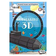 BỘ LĂP RÁP MÔ HÌNH GIẤY 3D TẦU NGẦM CỦA HÃNG SASSI JUNIOR 3D MODELING SUBMARINE thumbnail