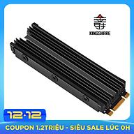 Tản Nhiệt Kingshare cho SSD M2 NVME PCIe gắn cho PC (màu ngẫu nhiên) - Hàng Nhập Khẩu thumbnail
