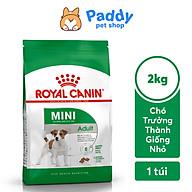 [2kg] Hạt Royal Canin Mini Adult Cho Chó Trưởng Thành Giống Nhỏ thumbnail