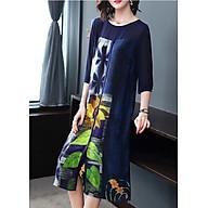 Đầm Suông Đẹp Kiểu Đầm Suông Big Size In Họa Tiết Hoa Hướng Dương Cách Điệu ROMI1568 thumbnail