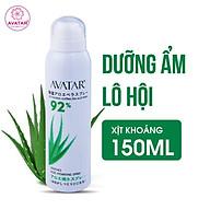 Xịt khoáng lô hội dưỡng da ẩm mượt mịn màng chính hãng AVATAR 150ml thumbnail